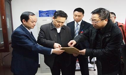 州委常委秘书长耿生茂同志到剑河调研社会管理创新工作