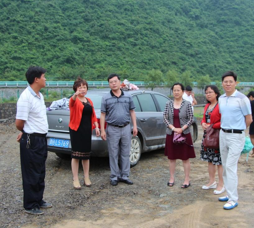 李国平主席专题调研县重大项目建设