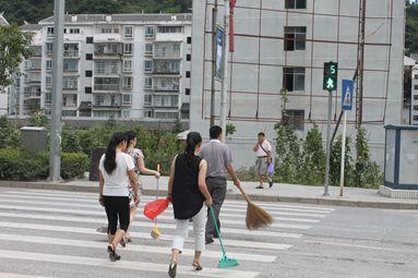 环境卫生清扫活动