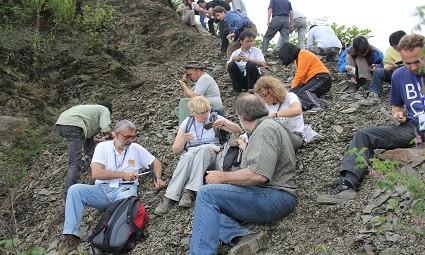 中外科学家探寻古生物化石的奥秘
