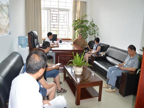 朱承伟教授再次莅临我县指导钩藤产业开发项目