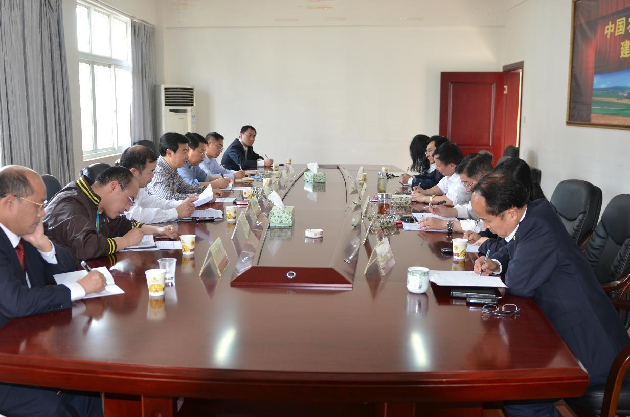 县人民政府到州农发行协调项目融资工作