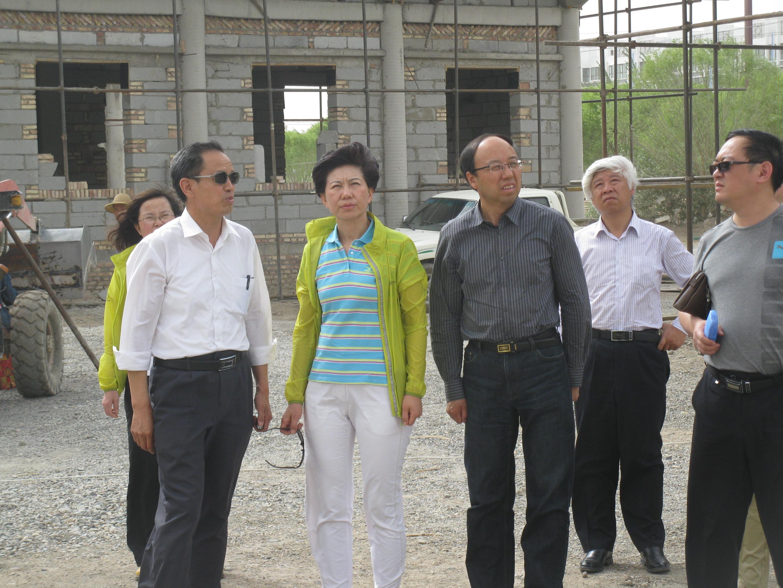 省文物局马玉萍副局长检查文物工作