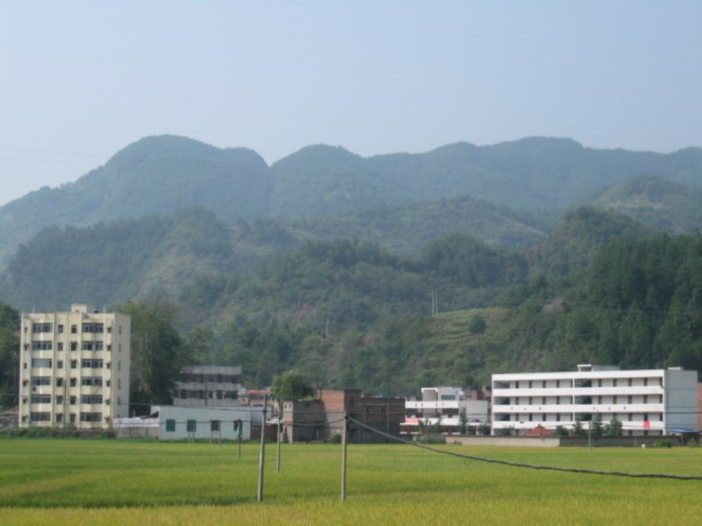 洞鹿小学校园远景三