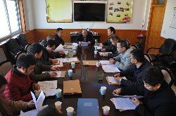县人社局召开2016年度民主生活会