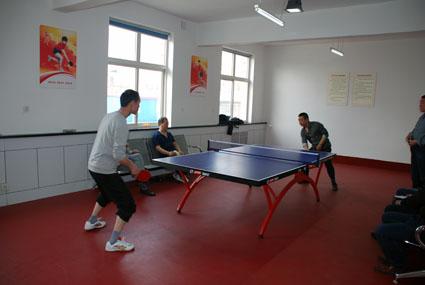 县交通运输局举行乒乓球内部选拔赛