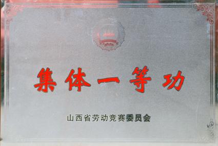 省劳动竞赛委员会授予泽州县交通运输局集体一等功