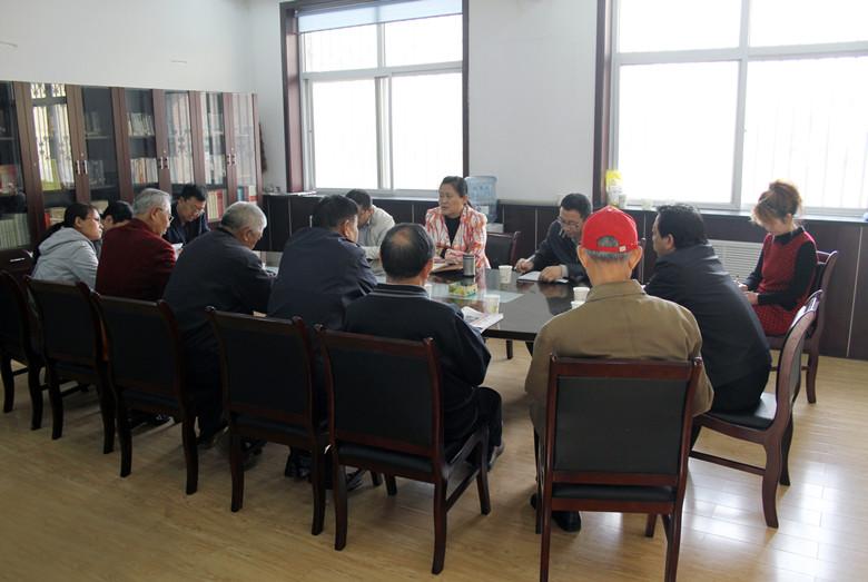 市局领导深入泽州县老干部局开展调研征求意见活动