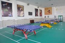 阿右旗总工会乒乓球培训基地完成建设