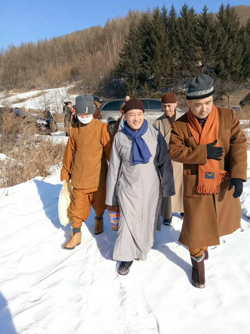 清原满族自治县宗教界积极开展走访慰问活动