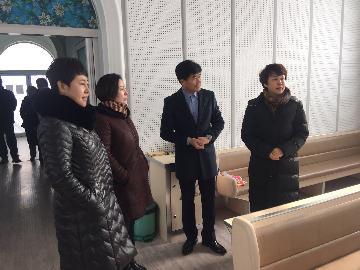 市民委领导带头深入基层宗教活动场所进行春节前安全检查