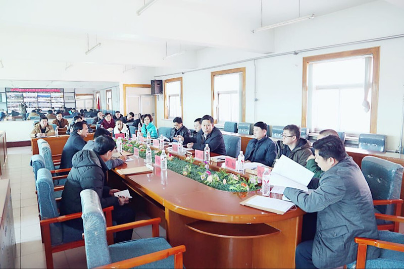 2015年3月5日省教育厅副厅长岳强等领导到扶余调研安全、学生保险等相关工作