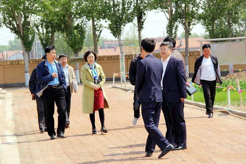 2015年5月15日在长岭县海青乡中心校学校后勤管理工作专项督导检查