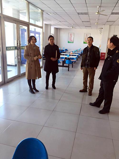 2017年2月24日,市学校后勤管理中心、局安全科、市药监局联合检查组对市特殊教育学校进行食品安全检查