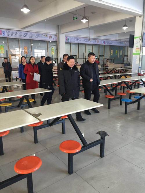 2017年2月23日,市学校后勤管理中心、局安全科、市药监局联合检查组对市第二高中进行食品安全检查