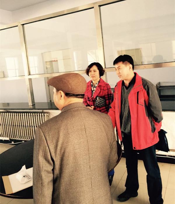 2015年4月13日省体委艺科到开发区中心校检查食品安全