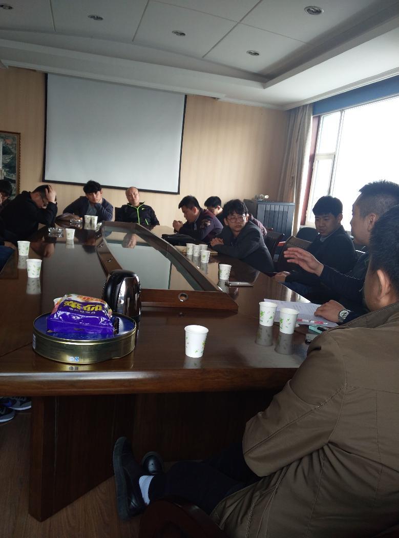 局团支部召开团员大会迎五四青年节