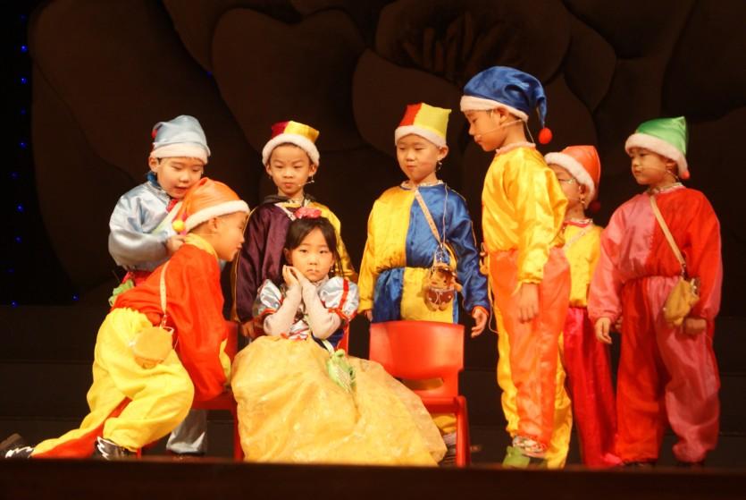 幼儿园童话剧表演活动