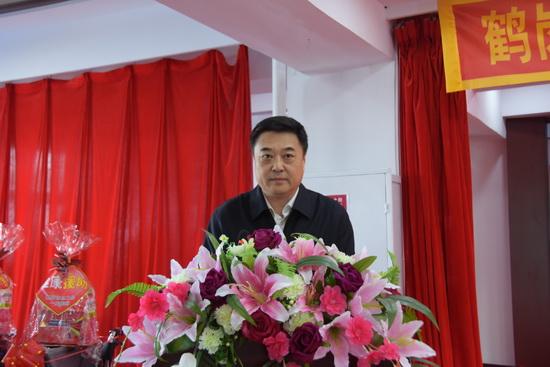 徐征主席宣布健康援助工程正式启动