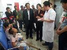 九三学社大庆市委与大庆中医骨伤病医院联合开展《十八岁以下青少年下肢残疾康复救助工程》