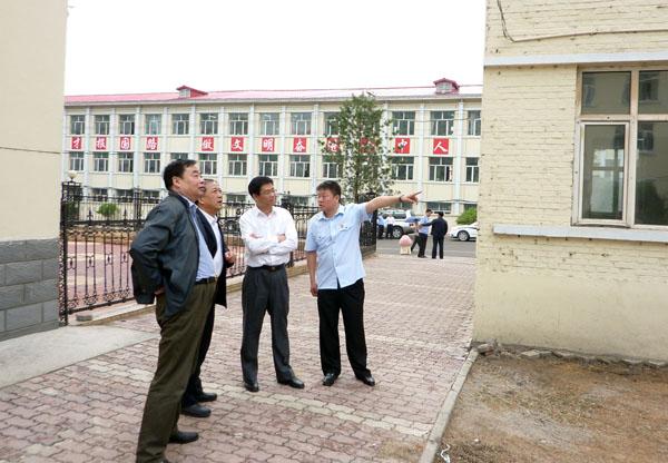 省林区中院领导来柴河法院调研指导工作