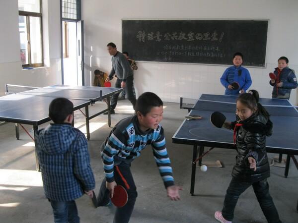社团活动之乒乓球活动