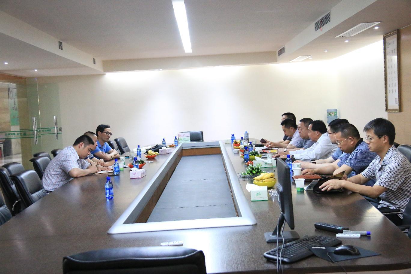 永康市门业协会与四川蓬溪县门业协会交流学习