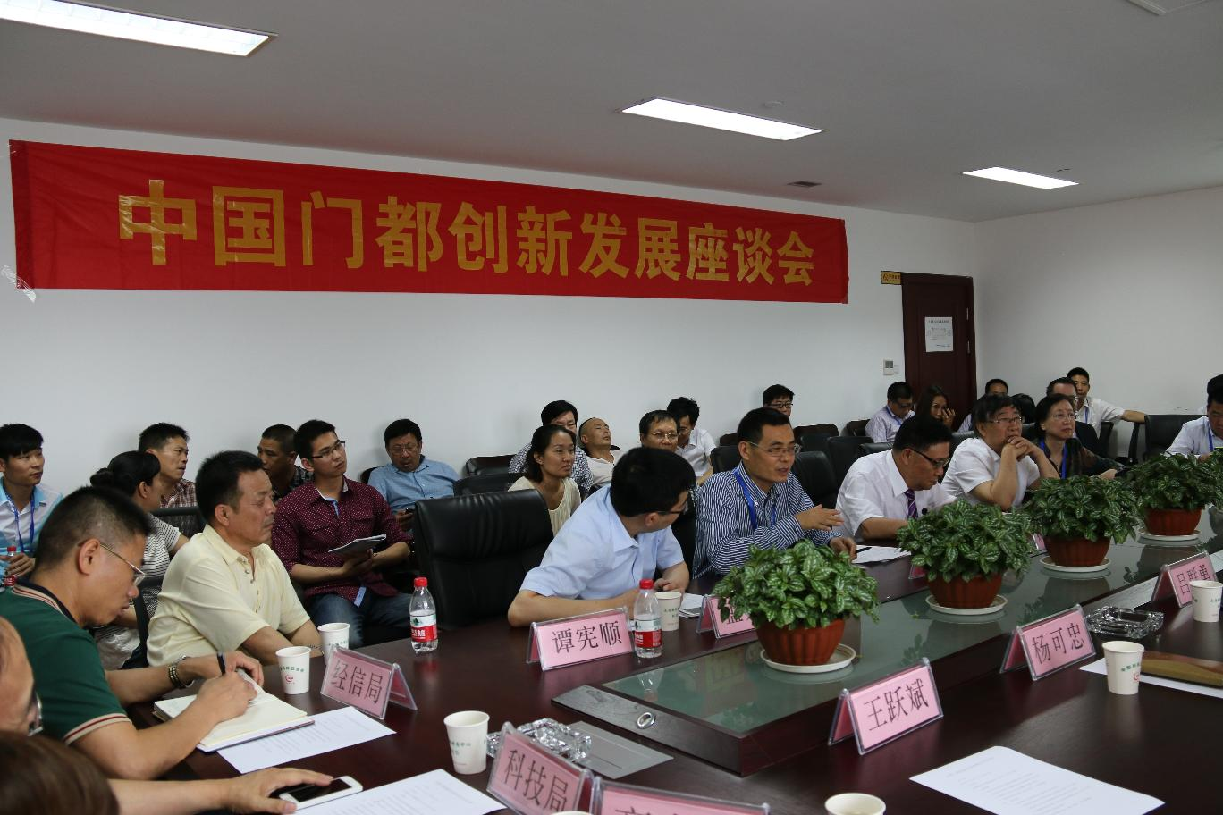 中国门都创新发展座谈会