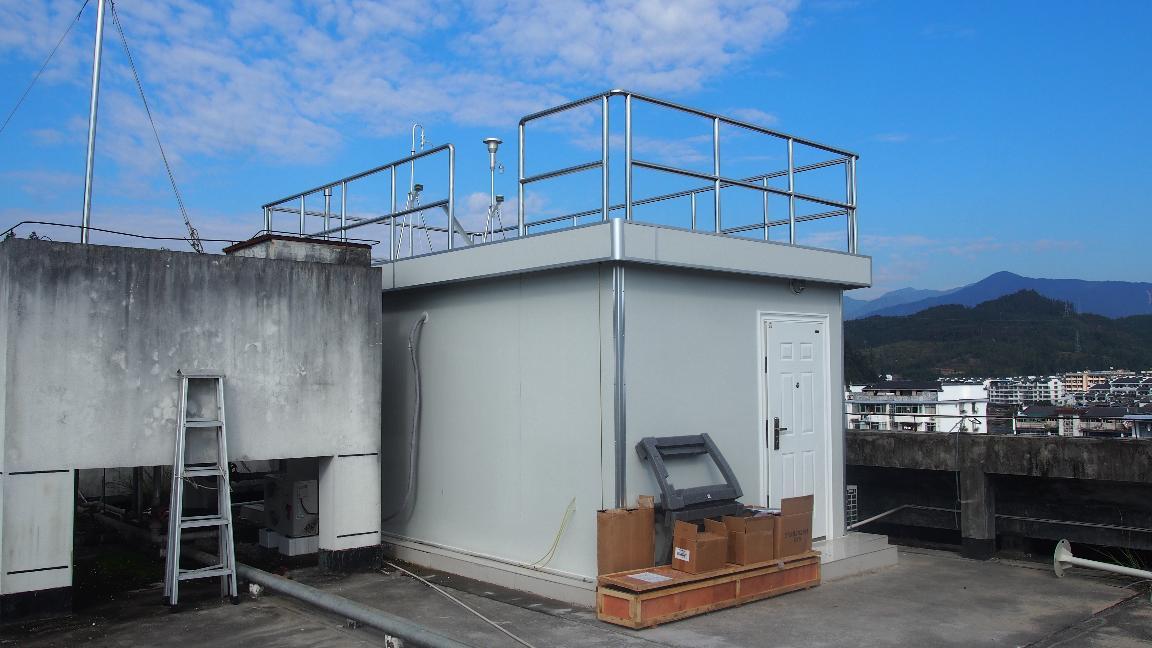 泰宁县空气自动监测站顺利竣工