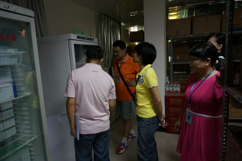 市中心血站按常规进行第二季度安全生产自查