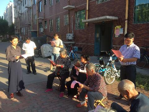学雷锋志愿服务队到钱家村开展中秋传统文化进村居宣讲活动