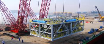 蓬莱巨涛海洋工程重工有限公司