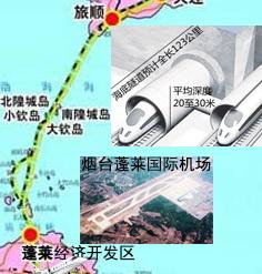 跨渤海高铁海底隧道