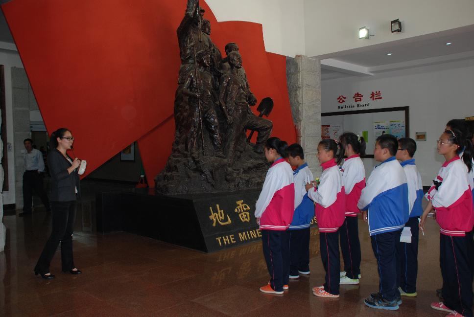 中小学生参观我馆