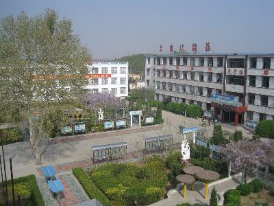 校园俯视图