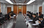 市纠风办督查评议组到市局开展2014年度政风行风督查评议