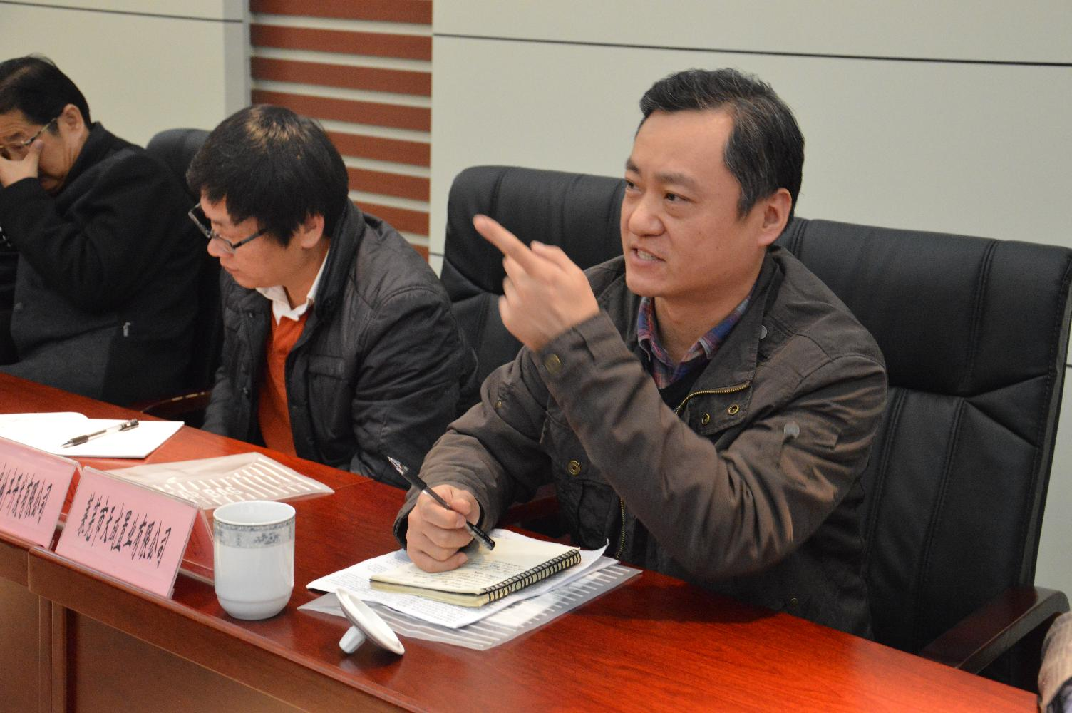 在全市人防业务座谈会上企业代表发言