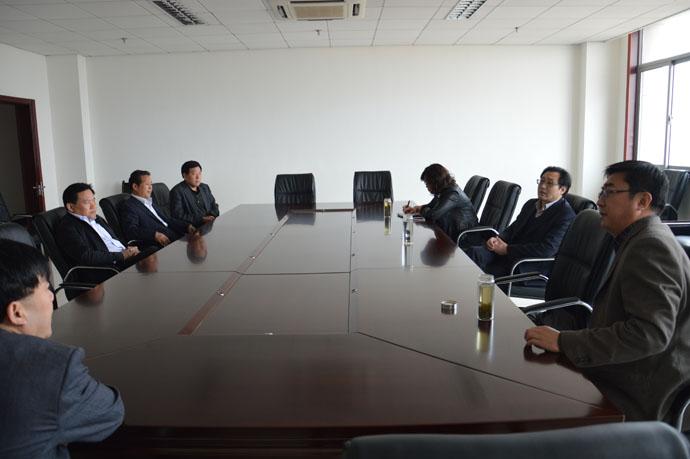 济宁市人防办副主任刘振海到我办座谈交流