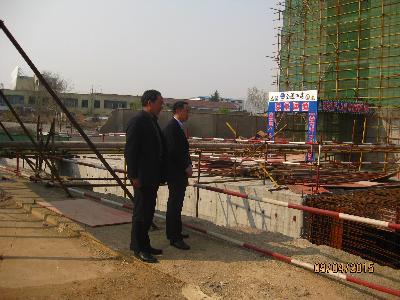 钢城区人防办加强人防工程巡查