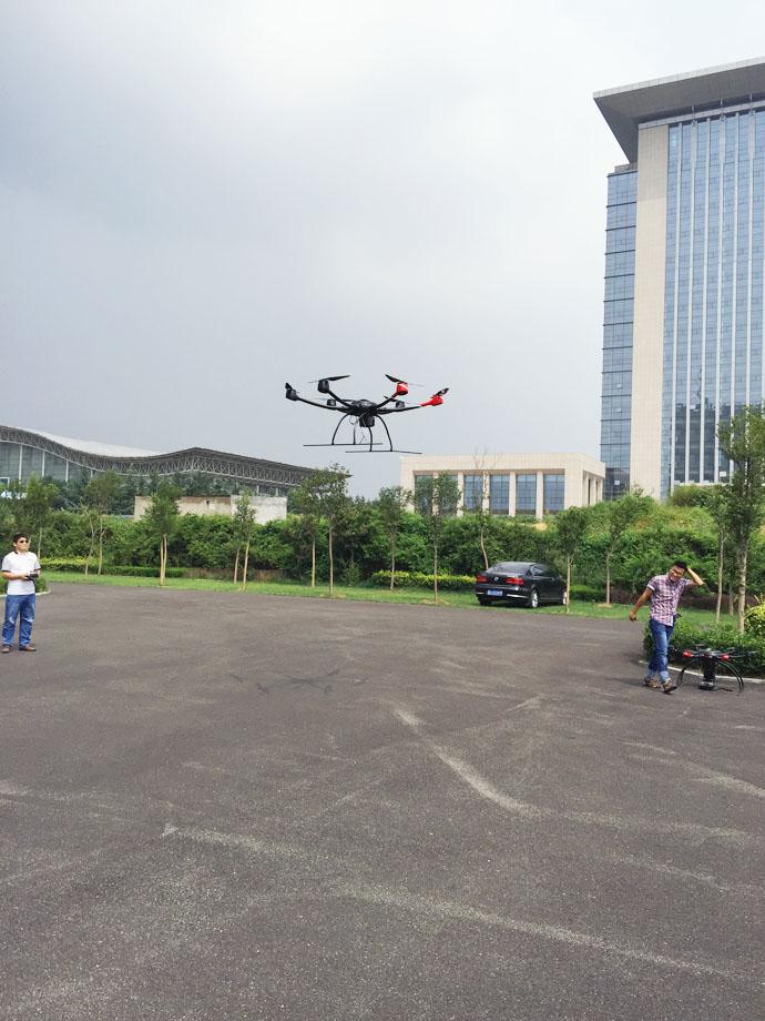 市人防办开展无人机项目