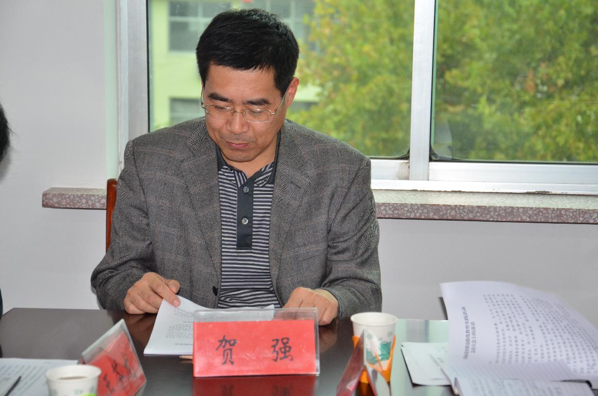 沂水县委组织部副部长编办主任贺强同志在编办党的群众路线教育实践活动总结大会上讲话