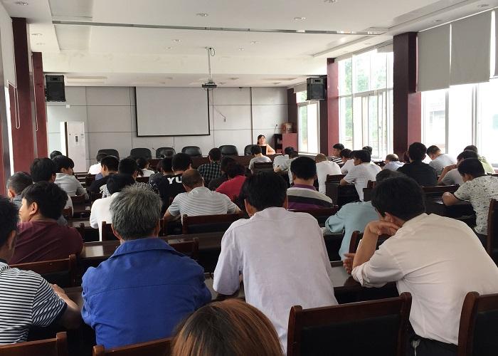 何村乡举行2015年入党积极分子培训班