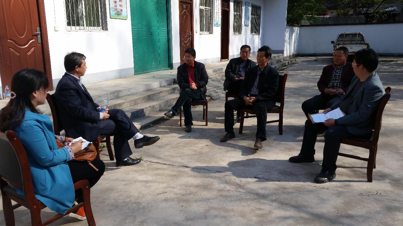 嵩县审计局到白河镇油路沟村积极开展包村帮扶活动
