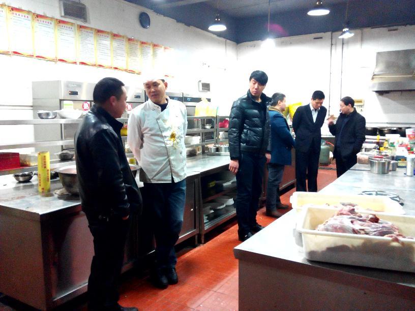 陈留军局长带队检查重大餐饮活动保障