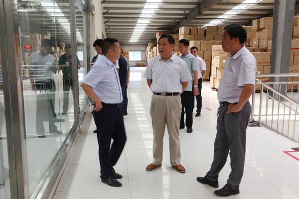 市人大常委会副主任邹东波调研重点项目建设