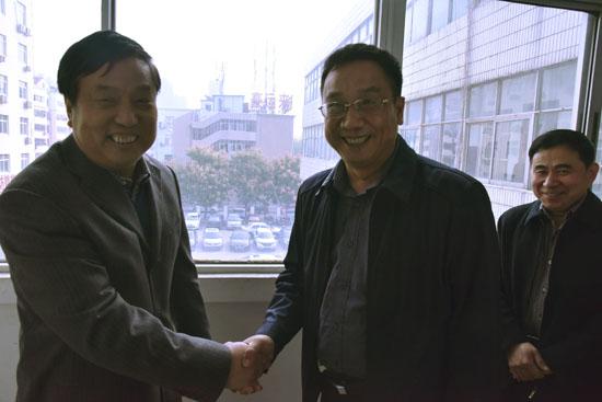中共濮阳市委常委统战部部长张红林同志到民盟机关调研