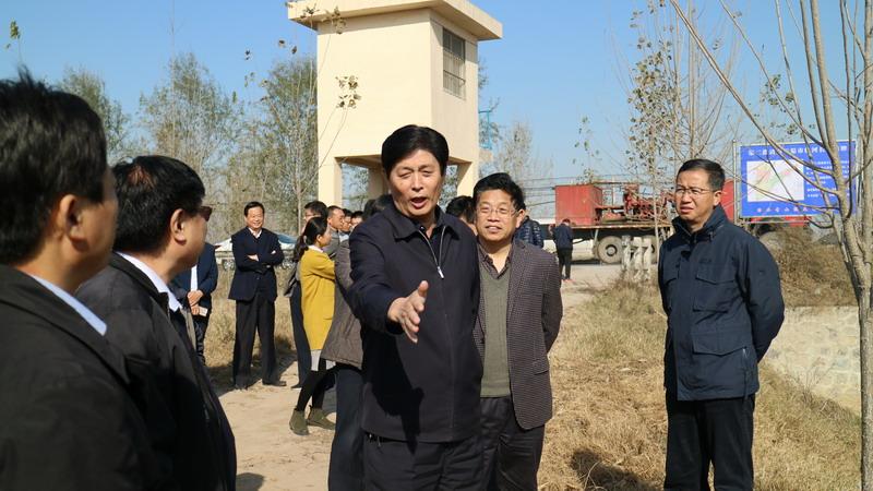 市领导到第二濮清南调研河长制落实情况