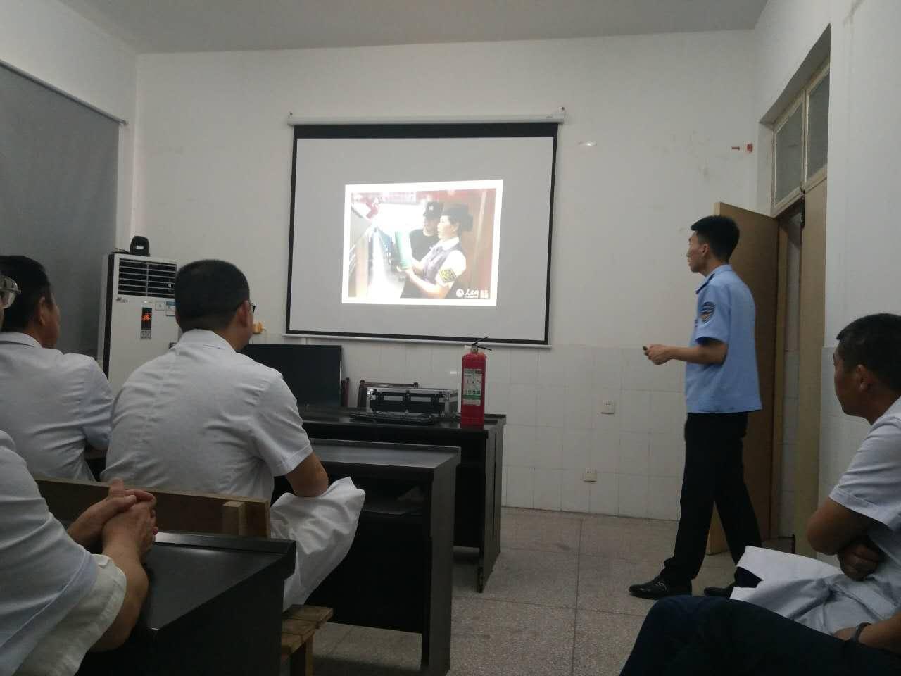 肖王镇卫生院消防安全专项培训情况