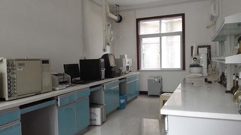 微量分析室一角