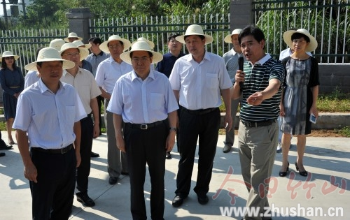 国家六部委调研考核竹山水污染防治等工作